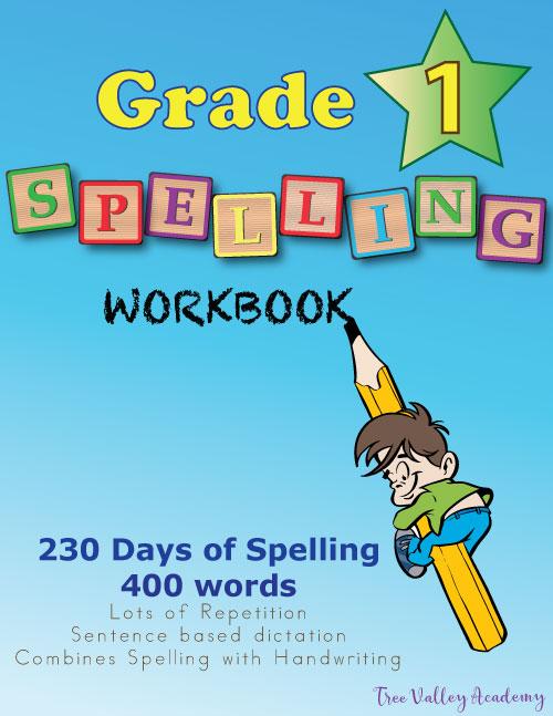 Grade 1 Spelling Workbook