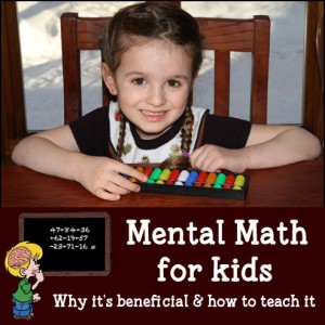 Mental Math – Learning To Be A Human Calculator