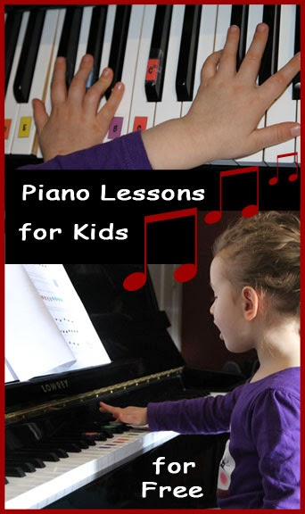 free online piano lessons for kids - an excellent tool for homeschooling music