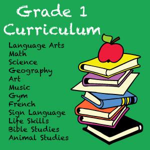 Grade 1 Homeschooling Curriculum