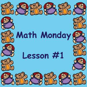 Math Monday Lesson #1