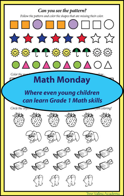 Math Monday Week 1