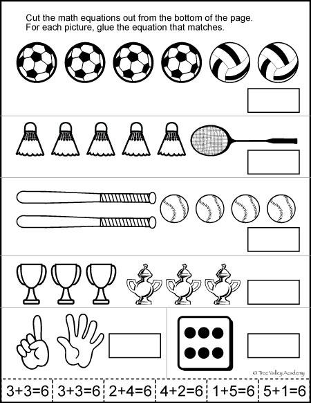 kindergarten worksheets number bonds 6 kindergarten best free printable worksheets. Black Bedroom Furniture Sets. Home Design Ideas
