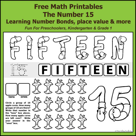 number bonds to  free math worksheets free math printables for kindergarten and grade  the number  addition  subtraction