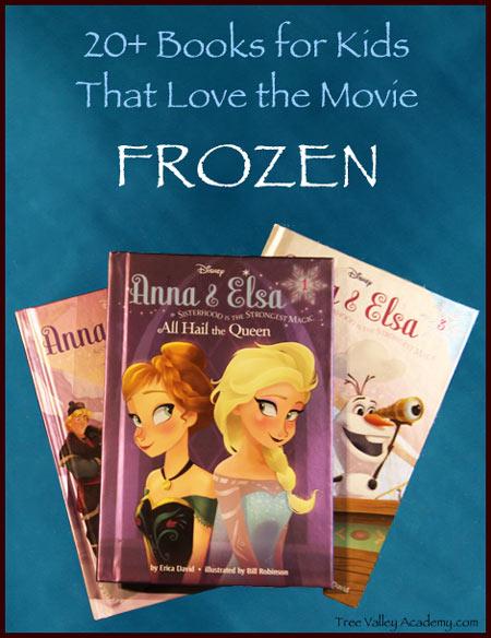 Over 20 Frozen Kids Books