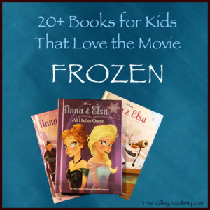Over 20 great kids books fans of the movie Frozen will want to read