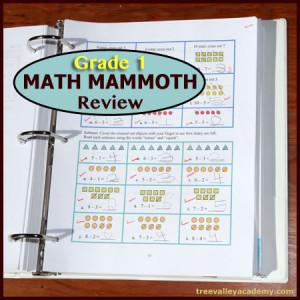 Grade 1 Math Mammoth Curriculum Review