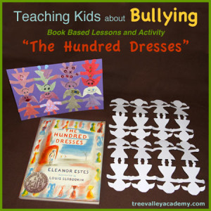 "Teaching Kids About Bullying. Book based Lessons and Activity for the book ""The Hundred Dresses""."