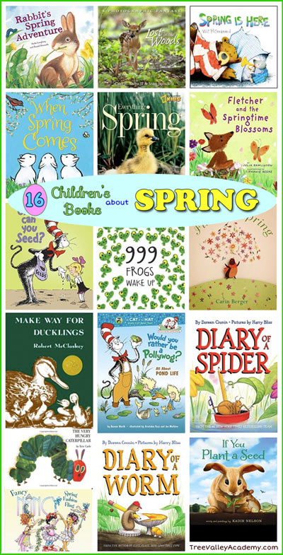 16 Children\'s Books About Spring - Tree Valley Academy
