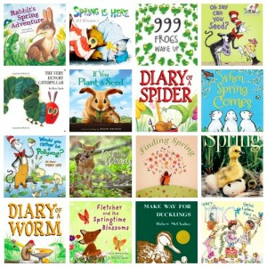 16 Children's Books About Spring