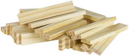 engineering toy: wood building planks