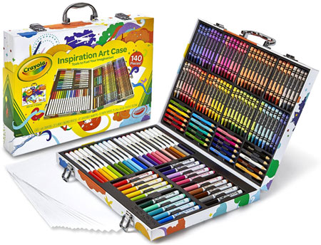 Great gift idea for kids who love art: Crayola Art Case.