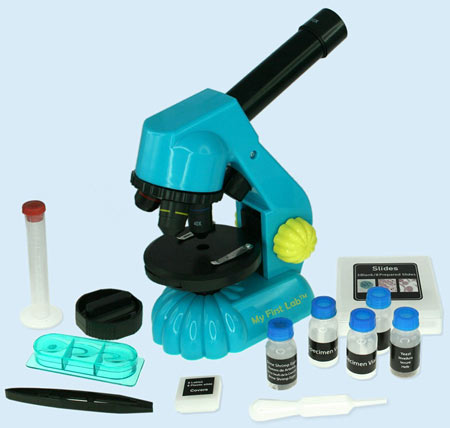 Science Gift Ideas for 5-6 year olds: Microscope Set