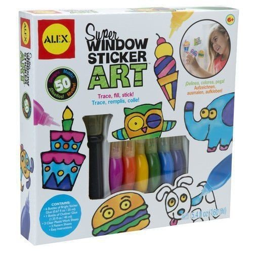 Gift idea for kids that love art: Window Sticker Art.
