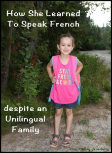 How My Daughter Learned A Second Language