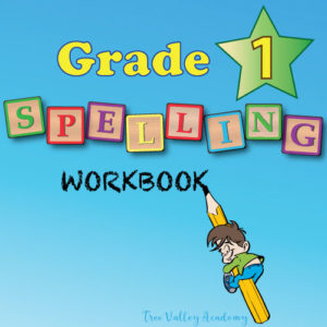 Grade 1 Spelling Workbook .PDF - 230 Lesson Spelling Curriculum For Homeschool