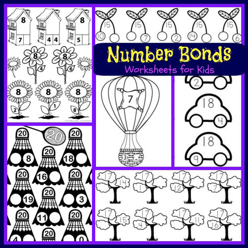 100+ Free Number Bonds Worksheets For Kids