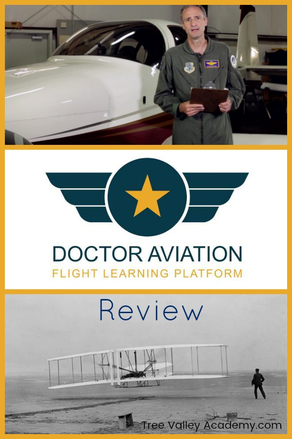 A review of Doctor Aviation: An online aviation course for ages 16+ to learn more about all things aviation and flight.