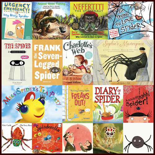 Childrens books about spiders sciox Gallery