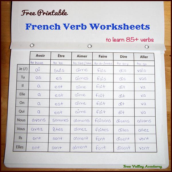 auvoir verb in present tense